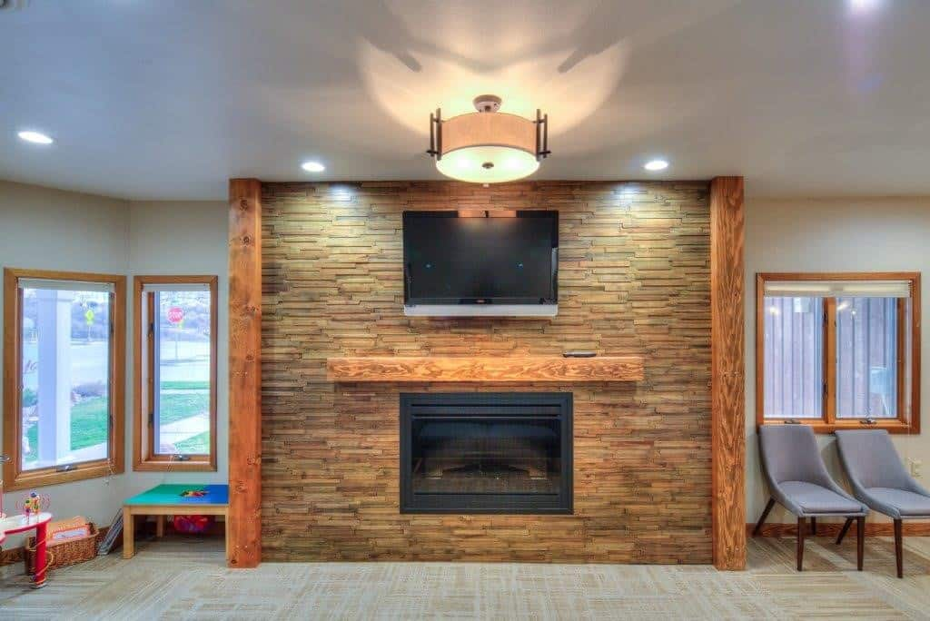 fireplace - Belle Fourche - Jackson Dental