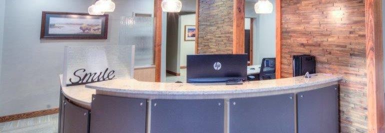front desk - Belle Fourche - Jackson Dental